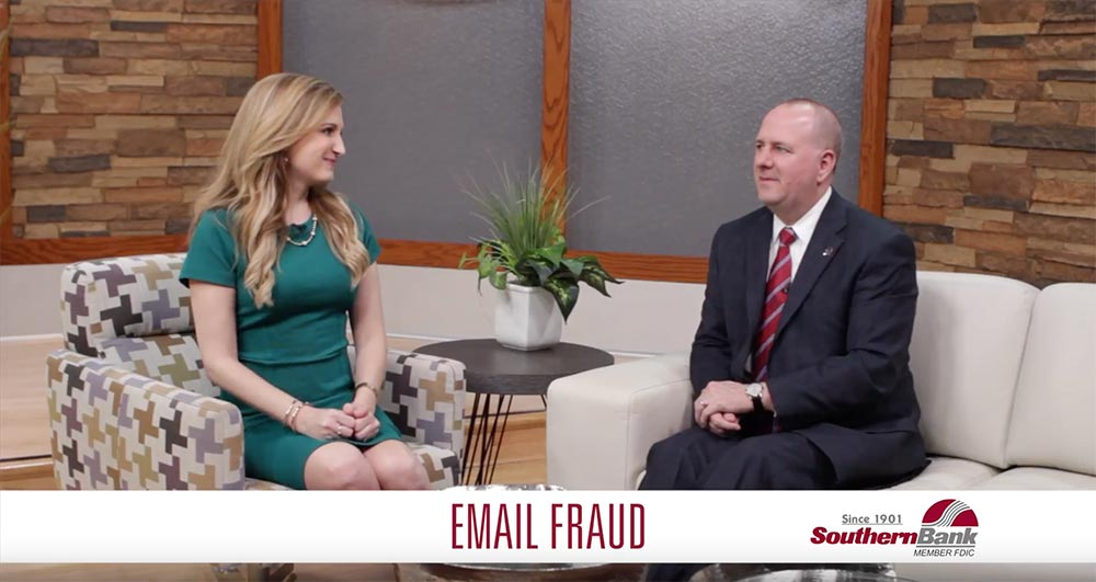 Email Fraud Banner