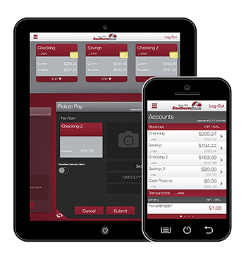Mobile Banking App devices